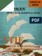 Buku Pedoman Penulisan Skripsi & Tesis Stielm 2020 Edit Deui-dikonversi