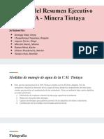Análisis de Un EIA