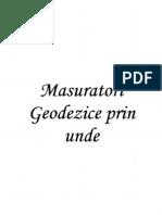 Masuratori Geodezice Prin Unde