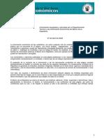 BOLETIN MACROECONOMIA ABRIL 2020