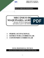 AAGD 201810 Mecánico de Maquinaria Agrícola Adecuado