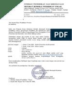 Undangan sosialisasi Program Bantuan CoE di Subdit Sarana Prasarana (1), BIDANG KSP, Rabu, 3 Juni 2020-1