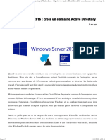 Windows Server 2016 _ créer un domaine Active Directory _ WindowsFacile.pdf