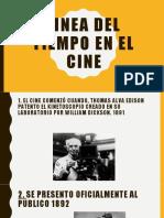 Linea Del Tiempo Cine
