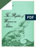 Murtaza Mutahhari - The Rights of Women in Islam (1980, World Organization for Islamic Services) - Libgen.lc