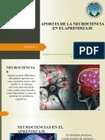 Aportes de La Neurociencia en El Aprendizaje