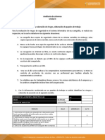 Auditoria de Sistemas 6 Trabajo