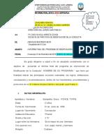 informe final modificación