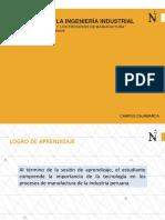 La Tecnología y los Porcesos de Manufactura(1)
