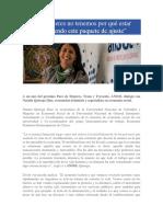 Quiroga Diaz, Natalia - Las mujeres no tenemos por qué estar sosteniendo este paquete de ajuste