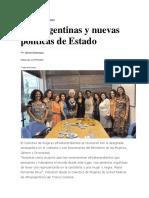 Redacción Rosario - Afroargentinas y nuevas políticas de estado