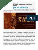 Santana, Bianca - Innovación Ancestral de Mujeres Negras. Tácticas y Políticas del Cotidiano.