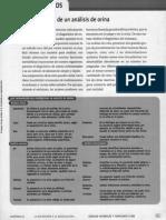 Interpretacón de un análisis de orina aique Cs Naturales y Tecnología 8vo