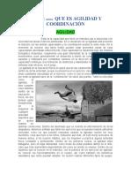 FLEXIBILIDAD Y  COORDINACION 2020