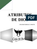 Trabajo ATRIBUTOS DE DIOS Jonathan Borjas