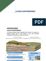 Tema II a Hidrología Subterránea