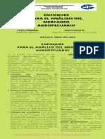 ENFOQUES PARA EL ANÁLISIS DEL MERCADEO AGROPECUARIO INFOGRAFIA DE YOSLENNI