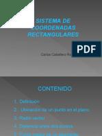 1.1. Sistema de Coordenadas Rectangulares