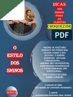Dicas dos Signos Choquesize- por RENATA LOPES