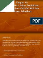 Bab 11 Telekomunikasi Dlm Pendidikan (Terkini)