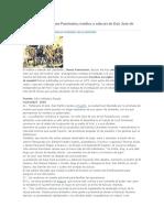 az.Anotaciones del Dr. James Paroissen. Médico y edecán de San Martín