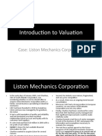 Liston Mechanics