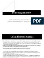Printicomm's Proposed Acquisition of Digitech- Negotiating Price and Form of Payment.pptx