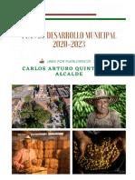 Plan de Desarrollo Municipal Bien Por Pueblorrico 2020-2023