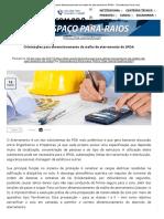 Orientações para dimensionamento da malha de aterramento do SPDA - Termotécnica Para-raios