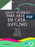 Cuadernillo N° 5 - Juegos Teatrales para aprender en casa (offline)