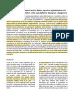 Respuestas diferenciales de azúcar, ácidos orgánicos y antocianinas a la modulación fuente-sumidero en las uvas Cabernet Sauvignon y Sangiovese.pdf