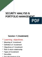 SAPM - session 1 investment
