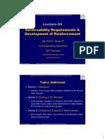 Lecture 05 Serviceability Requirements & Development of Reinforcement color