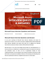 130+ Microsoft Azure Interview Questions and Answers 2020 [UPDATED] imp vv