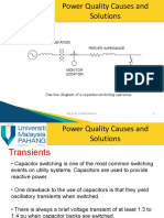 lecture notes transient & power factor correction