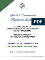 Honduras - Sala de lo Constitucional