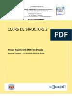 COURS DE STRUCTURE 2