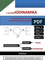 Termodinamika (Pertemuan 13)