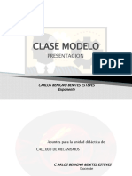 Clase Modelo