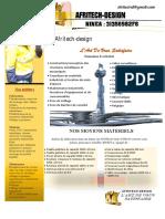 PLAQUETTE_PRESENTATION_ DE_AFRITECH_DESIGN MAJ MAI 2019