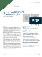 85001-0293 -- 8-inch Speaker and Speaker-Strobe