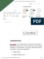 Manual de Scribd _ Scribd _ Youtube _ Prueba gratuita de 30 días _ Scribd