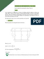 Calculation of volume