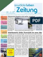 WesterwälderLeben / KW 01 / 07.01.2011 / Die Zeitung als E-Paper