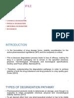 DEGRADATIONPATHWAY B. Pharm 2-2