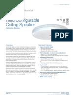 85001-0558 -- Genesis Ceiling Speakers