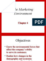 4 - The marketing environment(1)