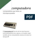 Microcomputadora - Wikipedia, la enciclopedia libre