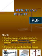Mass, weight and density.ppt