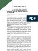 A atuação do psicopedagogo em relação à inovação no ambiente escolar_ Uma revisão sistemática integrativa